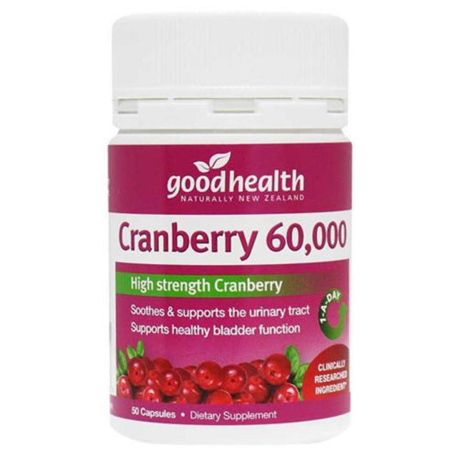 Good Health 蔓越莓精华胶囊,养护泌尿系统!澳洲Chemist Direct药房中文官网